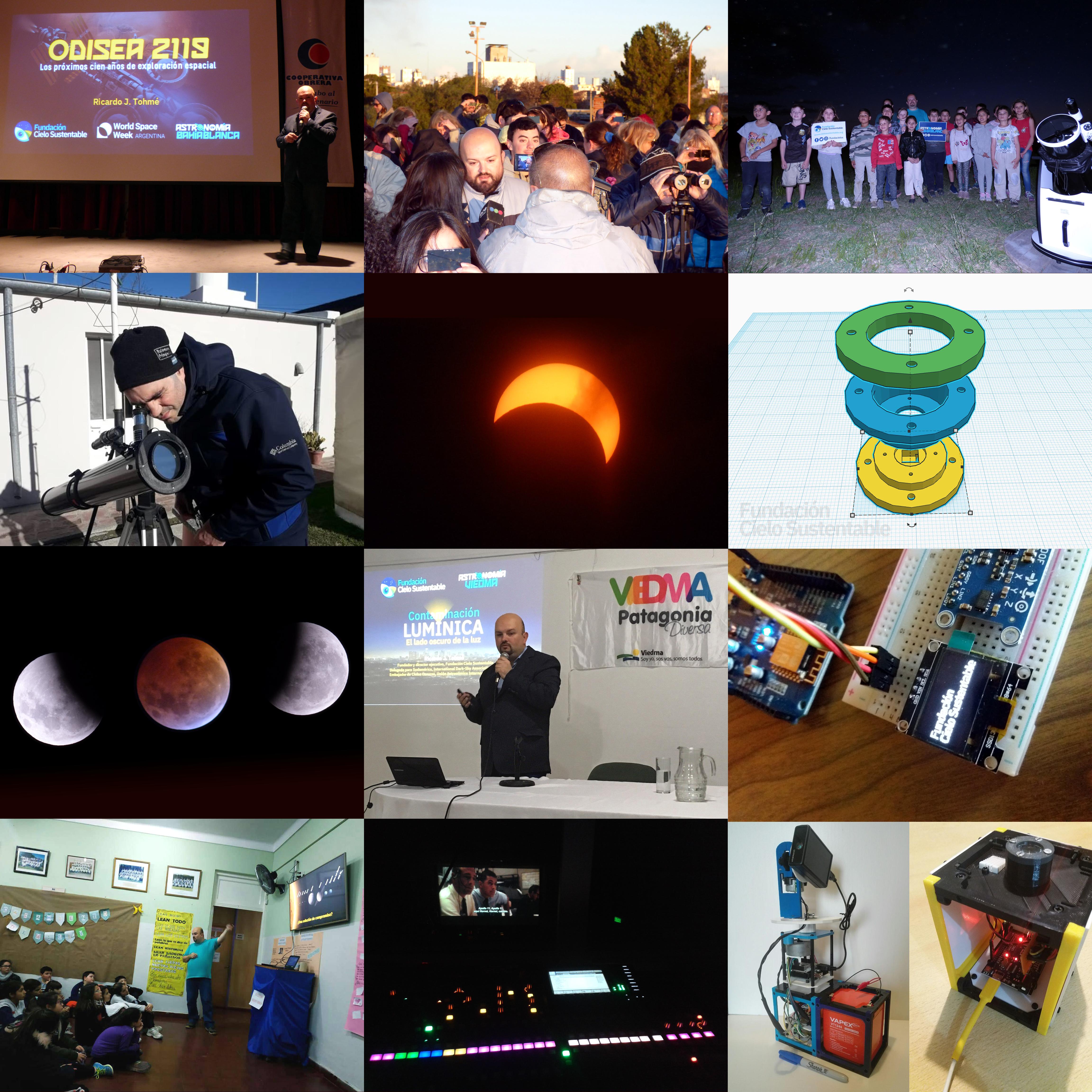 Actividades de la Fundación Cielo Sustentable durante 2019